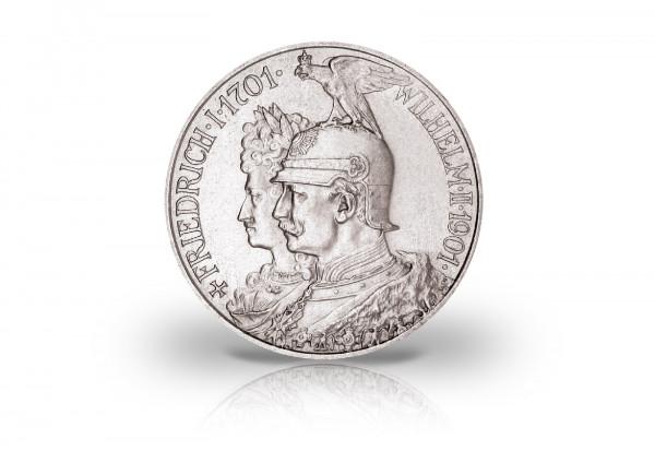 2 Mark 1901 Deutsches Kaiserreich Preußen 200 Jahre Königreich Jaeger-Nr. 105