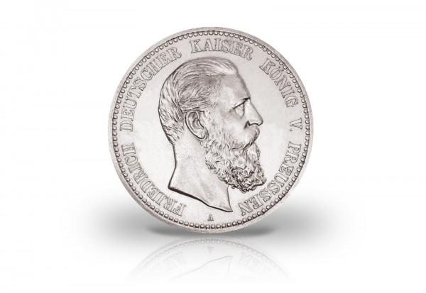 5 Mark 1888 Deutsches Kaiserreich Preußen Kaiser Friedrich III. Jaeger-Nr. 99