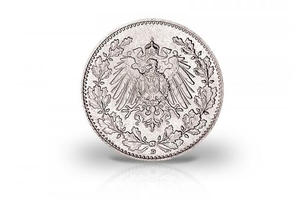 1/2 Mark Silber 1905-1919 Deutsches Kaiserreich