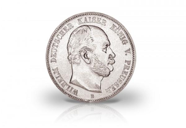 Königreich Preußen 5 Mark Wilhelm I. 1875 Prägestätte A