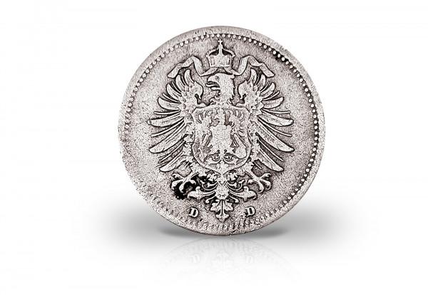 20 Pfennig 1873-1877 Deutsches Kaiserreich Jaeger-Nr. 5