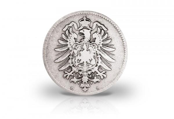 1 Mark 1873-1887 Deutsches Kaiserreich Jaeger-Nr. 9