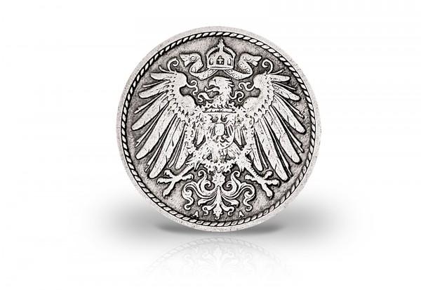 5 Pfennig 1890-1915 Deutsches Kaiserreich Jaeger-Nr. 12