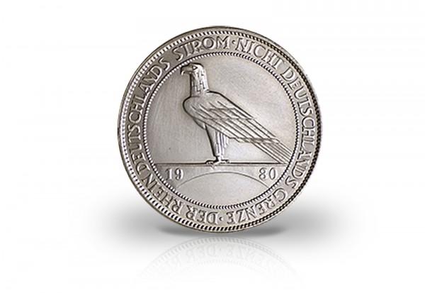 5 Reichsmark 1930 Weimarer Republik Rheinlandräumung Jaeger-Nr. 346