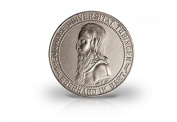3 Reichsmark Silbermünze 1927 Weimarer Republik Uni Tübingen Jaeger-Nr. 328