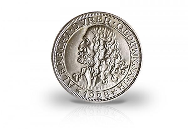 3 Reichsmark Silbermünze 1928 Weimarer Republik Albrecht Dürer Jaeger-Nr. 332