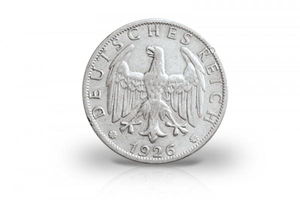 2 Reichsmark 1925-1931 Weimarer Republik Jaeger-Nr. 320