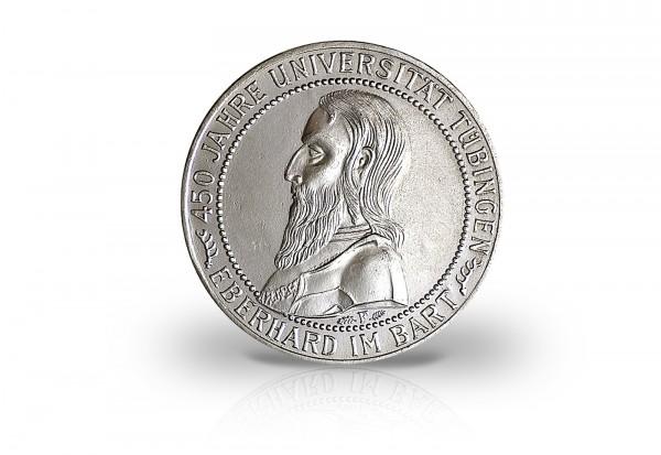 5 Reichsmark Silbermünze 1927 Weimarer Republik 450 Jahre Universität Tübingen Jaeger-Nr. 329