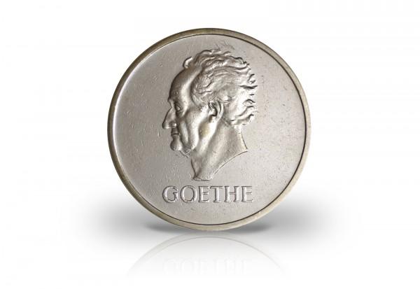 5 Reichsmark Silbermünze 1932 Weimarer Republik 100. Todestag Goethes Jaeger-Nr. 351