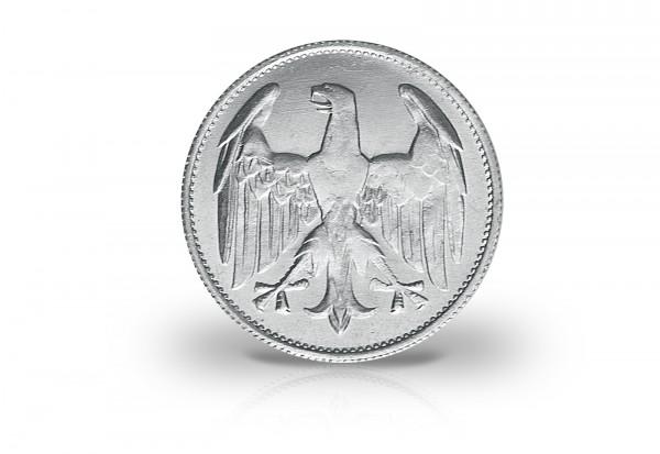 Weimarer Republik 3 Mark 1922 Prägestätte A
