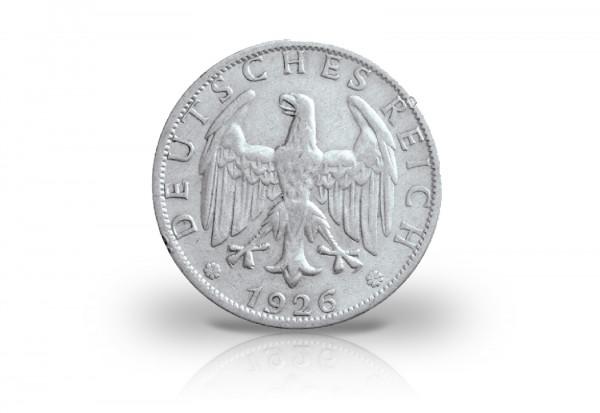 1 Reichsmark 1926 Weimarer Republik Jaeger-Nr. 319