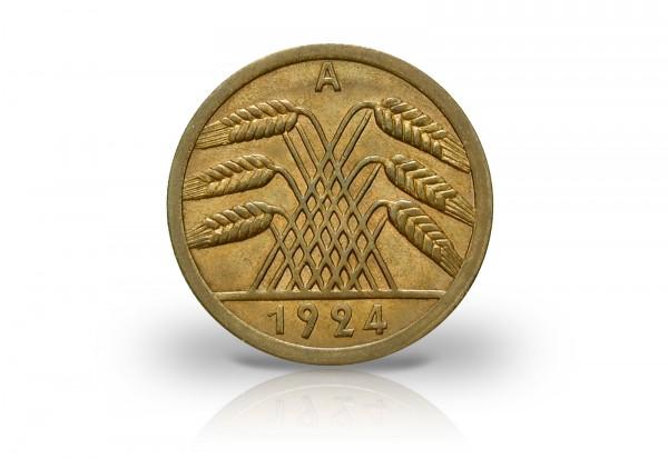 50 Reichspfennig 1924 Weimarer Republik Jaeger-Nr. 318