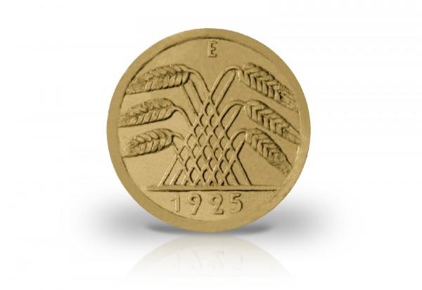 50 Pfennig 1925 E Weimarer Republik Jaeger-Nr. 318