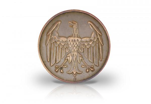 4 Pfennig 1932 Weimarer Republik Brüningtaler Prägestätte F Jaeger-Nr. 315