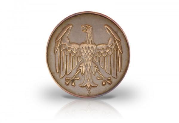 4 Pfennig 1932 Weimarer Republik Brüningtaler Prägestätte J Jaeger-Nr. 315