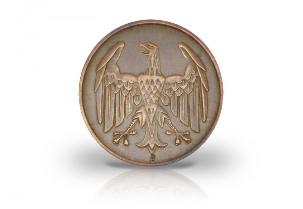 4 Pfennig 1932 Weimarer Republik Brüningtaler Prägestätte E Jaeger-Nr. 315