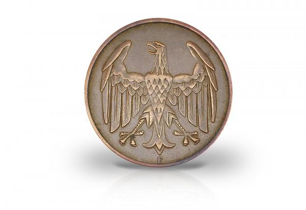 4 Pfennig 1932 Weimarer Republik Brüningtaler Prägestätte unserer Wahl Jaeger-Nr. 315