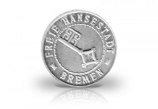 20 Verrechnungs-Pfennig Weimarer Republik Freie Hansestadt Bremen N43