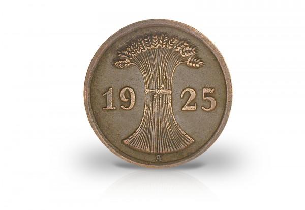 2 Reichspfennig 1923-1936 Weimarer Republik Jaeger-Nr. 314