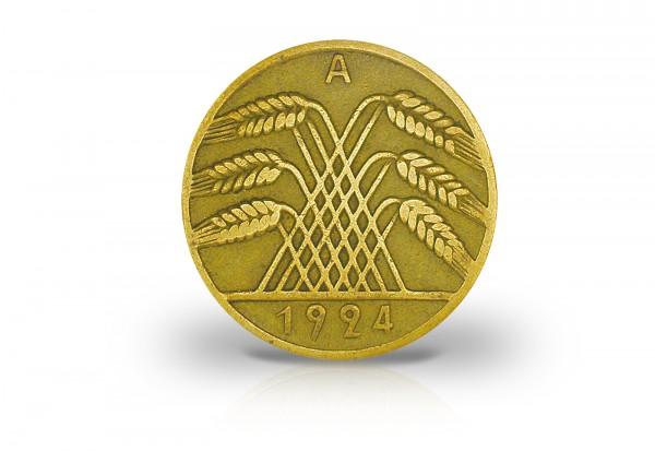 5 Reichspfennig 1924-1936 Weimarer Republik Jaeger-Nr. 316