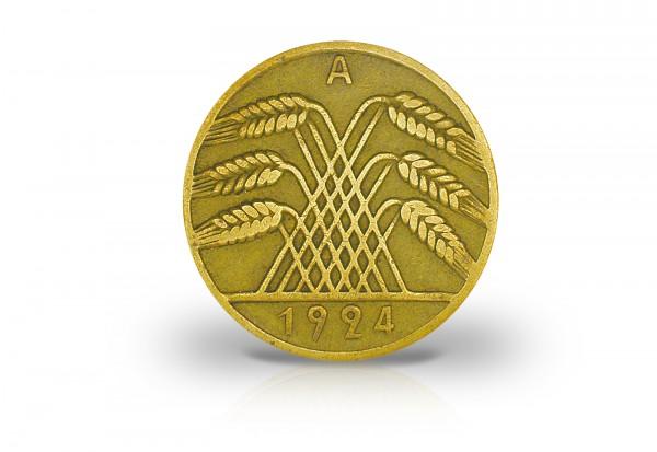 10 Reichspfennig 1924-1936 Weimarer Republik Jaeger-Nr. 317