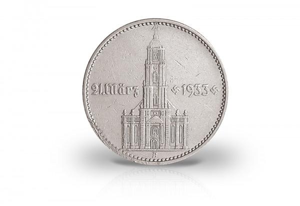 2 Reichsmark 1934 Drittes Reich Eröffnung Reichstag Jaeger-Nr. 355
