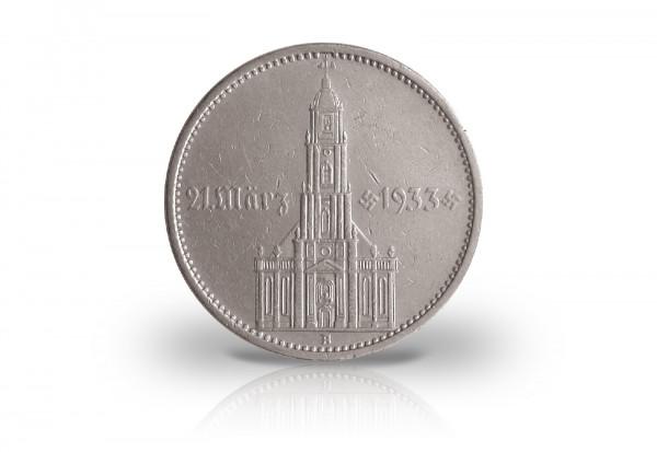 5 Reichsmark 1934 Drittes Reich Eröffnung Reichstag Garnisonskirche Jaeger-Nr. 356