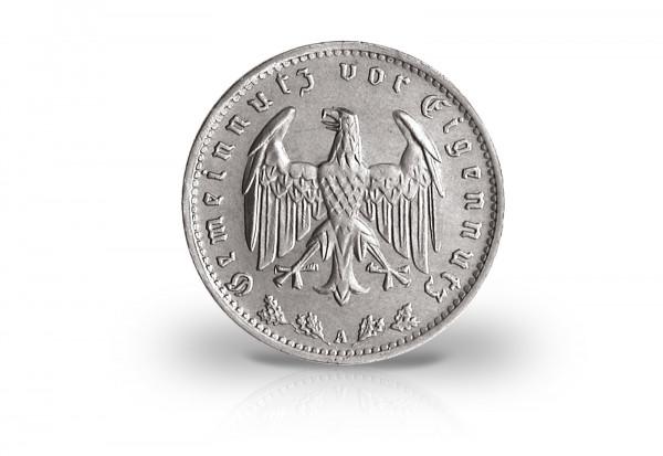1 Reichsmark 1933-1939 Drittes Reich Jaeger-Nr. 354