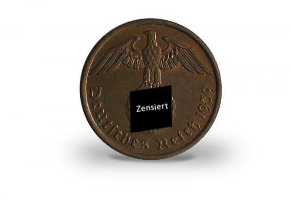 2 Reichspfennig 1936-1939 Drittes Reich Jaeger-Nr. 362