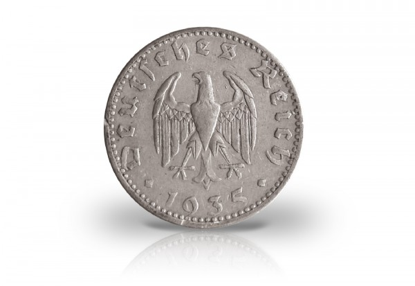 Drittes Reich 50 Reichspfennig 1935 J. 358