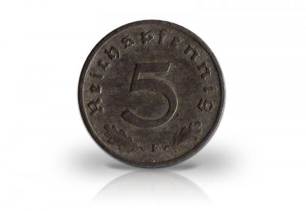 Drittes Reich 5 Reichspfennig 1940-1944 Jaeger-Nr. 370