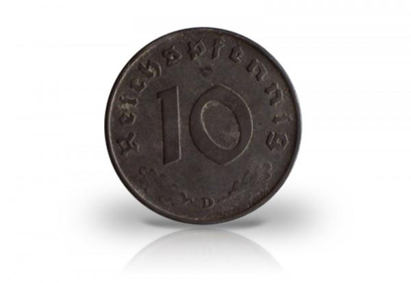 10 Reichspfennig 1940-1945 Drittes Reich Jaeger-Nr. 371