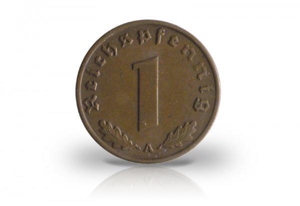 1 Reichspfennig 1936 Drittes Reich Jaeger-Nr. 361
