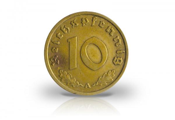 10 Reichspfennig 1936 Drittes Reich Jaeger-Nr. 364
