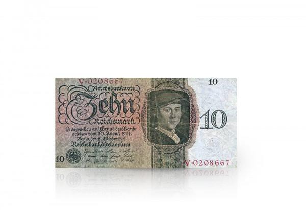 10 Reichsmark 1924-1934 Drittes Reich Ro. 168a