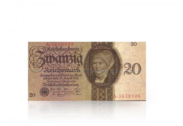 20 Reichsmark 1924-1934 Drittes Reich Ro. 169