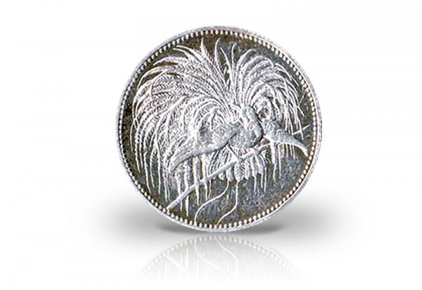 1 Mark 1894 Deutsch-Neuguinea Paradiesvogel Jaeger-Nr. 705
