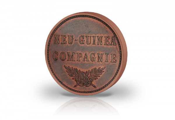 2 Pfennig 1894 Deutsch-Neuguinea Jaeger-Nr. 702