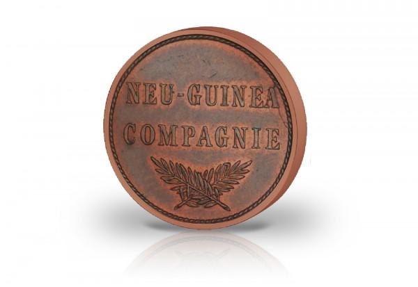 1 Pfennig 1894 Deutsch-Neuguinea Palmzweige Jaeger-Nr. 701