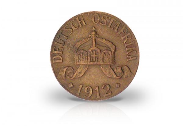 1 Heller 1904-1913 Deutsch-Ostafrika Heraldische Krone