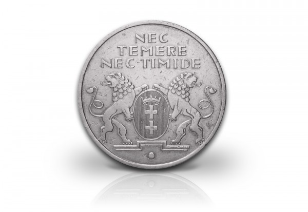 10 Gulden 1935 Danzig Notgeld vz