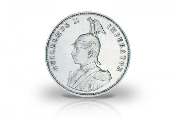 1 Rupie 1904-1914 Deutsch-Ostafrika Kaiser Wilhelm II. Jaeger-Nr. 722