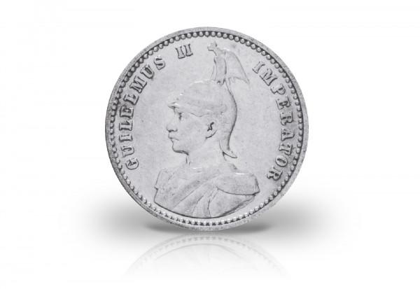1/4 Rupie 1891-1901 Deutsch-Ostafrika Kaiser Wilhelm II.