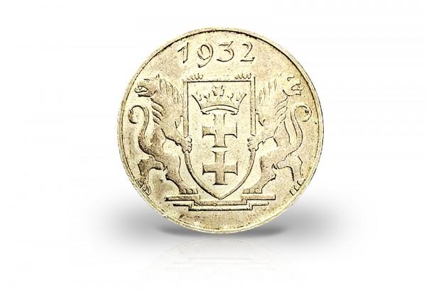 5 Gulden 1932 Danzig Marienkirche Jaeger D17