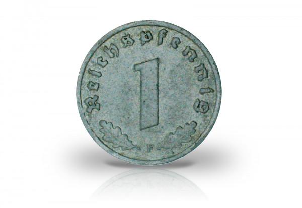 1 Reichspfennig 1945-1946 Drittes Reich Alliierte Besatzung Jaeger-Nr. 373b