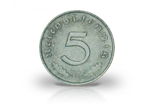 5 Reichspfennig 1947-1948 Drittes Reich Alliierte Besatzung Jaeger-Nr. 374