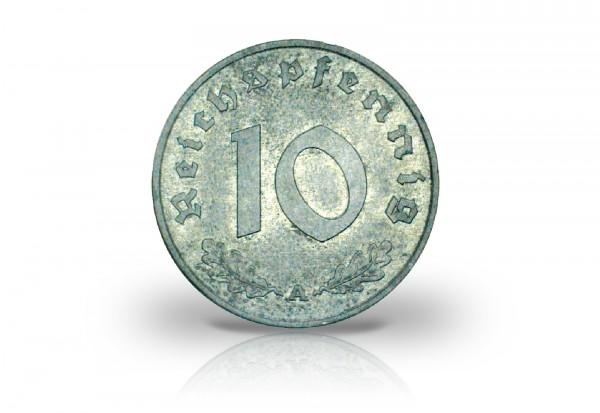 10 Reichspfennig 1945-1948 Drittes Reich Alliierte Besatzung Jaeger-Nr. 375
