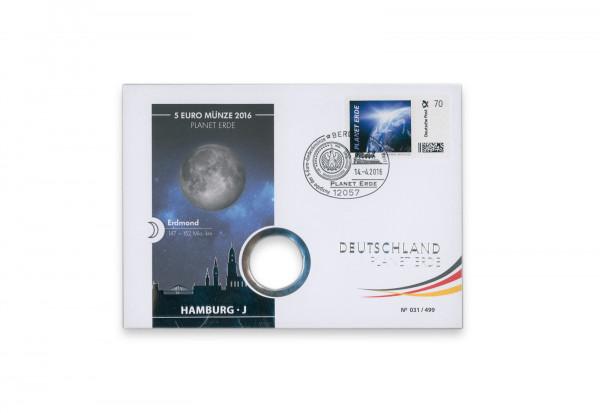 Numisbrief Planet Erde 2016 Kuvert leer deutsche Post