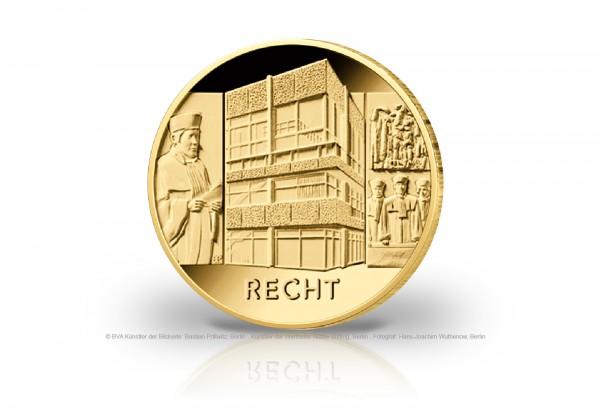 100 Euro Goldmünze 2021 Deutschland Säulen der Demokratie Recht Prägestätte unserer Wahl