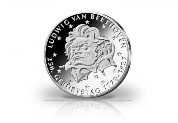 20 Euro Silbermünze 2020 Deutschland 250. Geburtstag Ludwig van Beethoven st